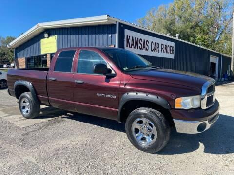 2004 Dodge Ram Pickup 1500 for sale at Kansas Car Finder in Valley Falls KS