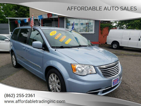 2013 Chrysler Town and Country for sale at Affordable Auto Sales in Irvington NJ