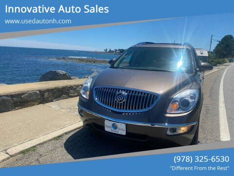 2011 Buick Enclave for sale at Innovative Auto Sales in North Hampton NH