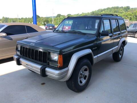 1996 Jeep Cherokee for sale at CarUnder10k in Dayton TN