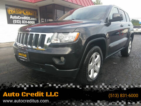 2012 Jeep Grand Cherokee for sale at Auto Credit LLC in Milford OH