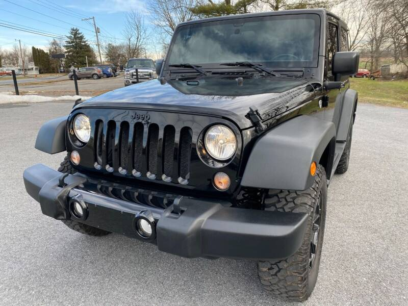 2015 Jeep Wrangler for sale at M4 Motorsports in Kutztown PA