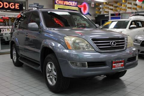 2005 Lexus GX 470 for sale at Windy City Motors in Chicago IL