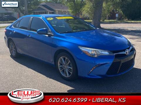 2017 Toyota Camry for sale at Lewis Chevrolet Buick of Liberal in Liberal KS