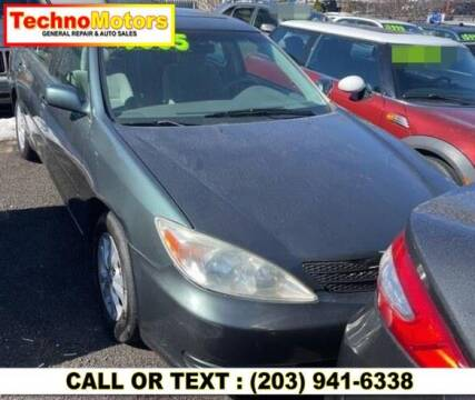 2004 Toyota Camry for sale at Techno Motors in Danbury CT
