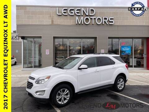 2017 Chevrolet Equinox for sale at Legend Motors of Waterford in Waterford MI