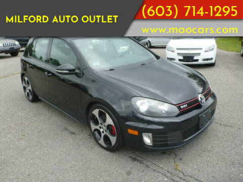 2011 Volkswagen GTI for sale at Milford Auto Outlet in Milford NH