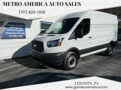 2015 Ford Transit Cargo for sale at METRO AMERICA AUTO SALES of Lebanon in Lebanon PA
