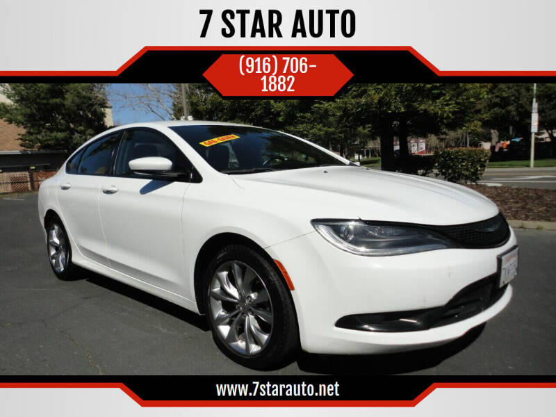2015 Chrysler 200 for sale at 7 STAR AUTO in Sacramento CA