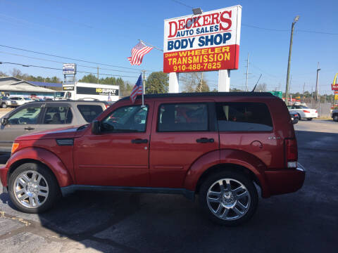 2011 Dodge Nitro for sale at Deckers Auto Sales Inc in Fayetteville NC
