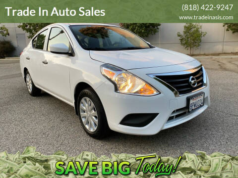 2016 Nissan Versa for sale at Trade In Auto Sales in Van Nuys CA
