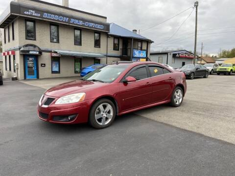 2010 Pontiac G6 for sale at Sisson Pre-Owned in Uniontown PA