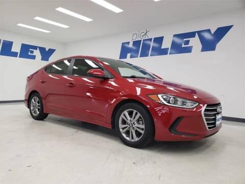 2018 Hyundai Elantra for sale at HILEY MAZDA VOLKSWAGEN of ARLINGTON in Arlington TX