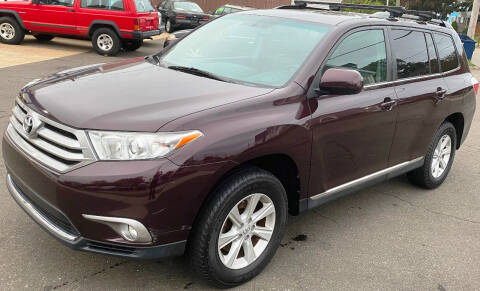 2013 Toyota Highlander for sale at Autoworks of Devon in Milford CT