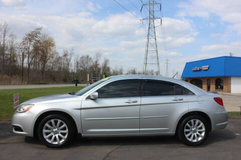 2012 Chrysler 200 for sale at D & B Auto Sales LLC in Washington Township MI