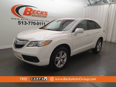 2015 Acura RDX for sale at Becks Auto Group in Mason OH