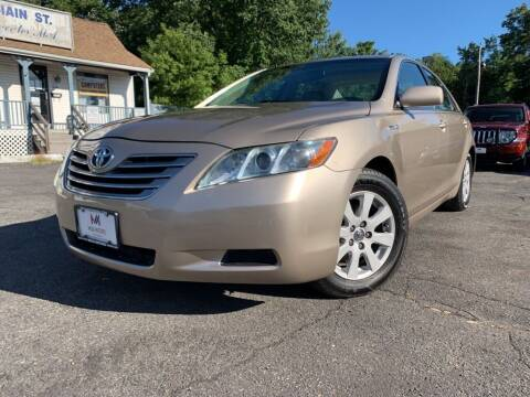 2008 Toyota Camry Hybrid for sale at Mega Motors in West Bridgewater MA