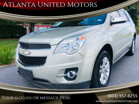 2013 Chevrolet Equinox for sale at Atlanta United Motors in Buford GA