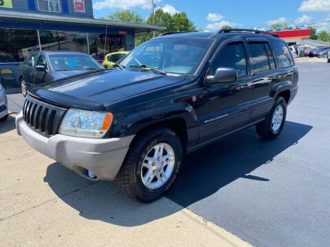 2004 Jeep Grand Cherokee for sale at Wise Investments Auto Sales in Sellersburg IN