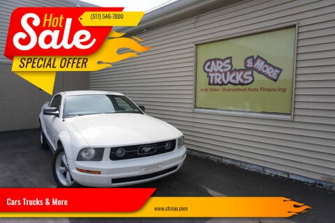 2007 Ford Mustang for sale at Cars Trucks & More in Howell MI