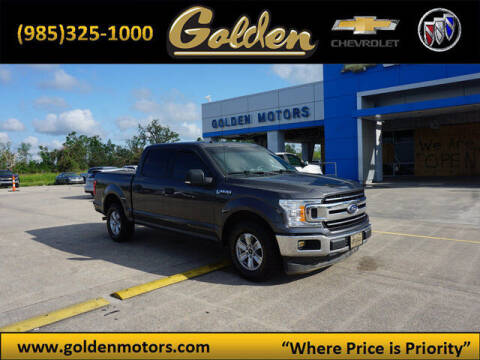 2018 Ford F-150 for sale at GOLDEN MOTORS in Cut Off LA