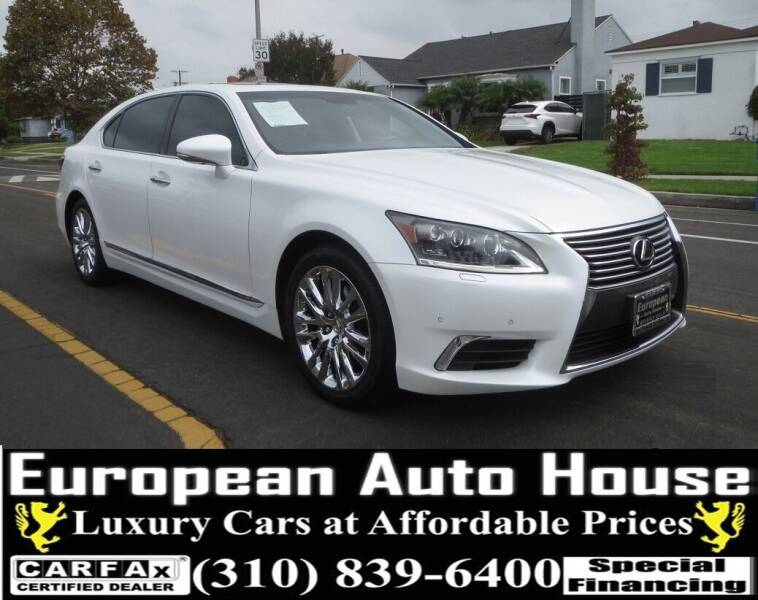 2013 Lexus LS 460 for sale at European Auto House in Los Angeles CA
