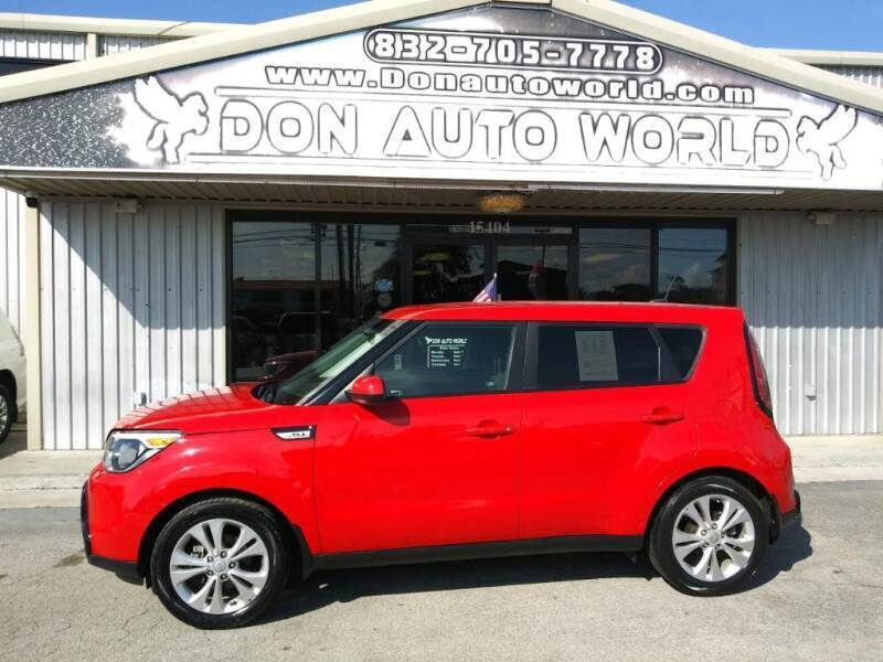 2016 Kia Soul for sale at Don Auto World in Houston TX