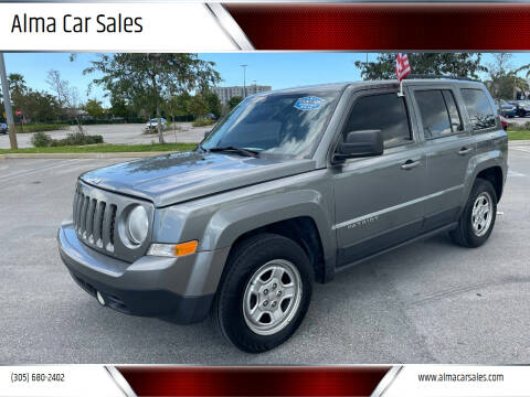 2013 Jeep Patriot for sale at Alma Car Sales in Miami FL