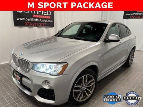 2017 BMW X4 for sale at CERTIFIED AUTOPLEX INC in Dallas TX