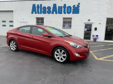 2012 Hyundai Elantra for sale at Atlas Auto in Rochelle IL