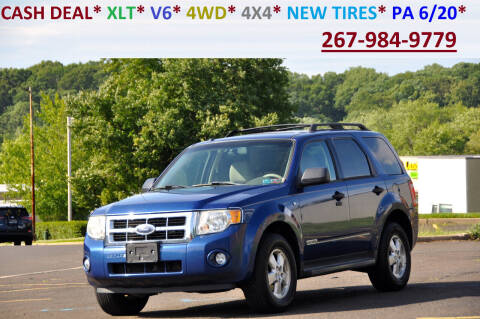 2008 Ford Escape for sale at T CAR CARE INC in Philadelphia PA