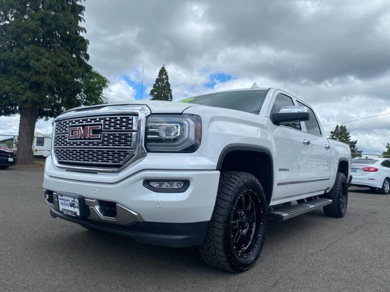 2017 GMC Sierra 1500 for sale at Pacific Auto LLC in Woodburn OR