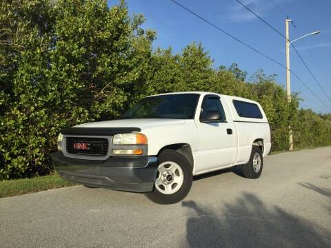 2002 GMC Sierra 1500 for sale at VICTORY LANE AUTO SALES in Port Richey FL