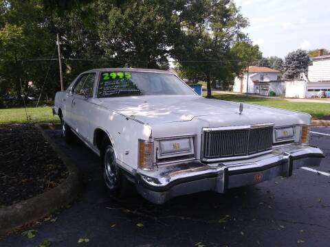 1977 Mercury Grand Marquis for sale at Oak Hill Auto Sales of Wooster, LLC in Wooster OH
