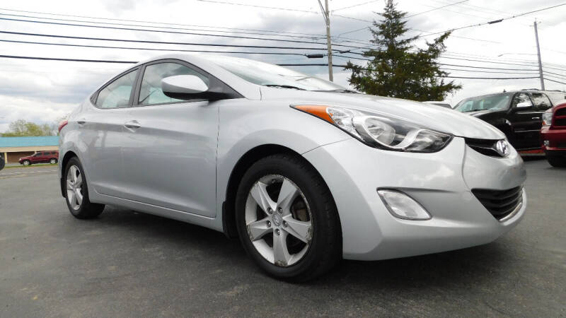 2013 Hyundai Elantra for sale at Action Automotive Service LLC in Hudson NY