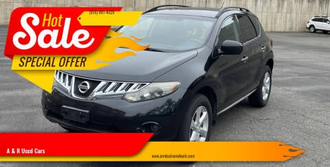 2009 Nissan Murano for sale at A & R Used Cars in Clayton NJ