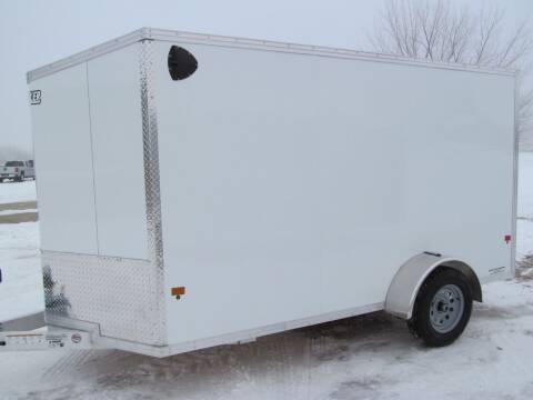 2021 EZ-HAULER EZEC6X12SA for sale at Flaherty's Hi-Tech Motorwerks in Albert Lea MN