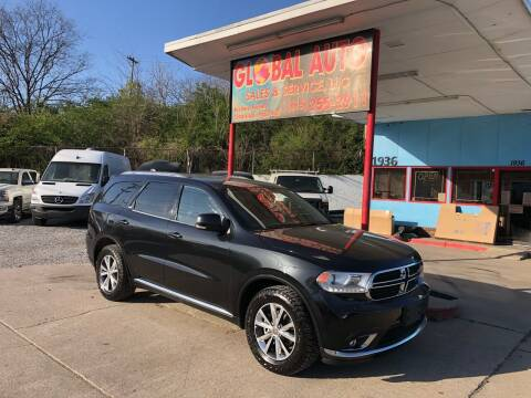 2016 Dodge Durango for sale at Global Auto Sales and Service in Nashville TN