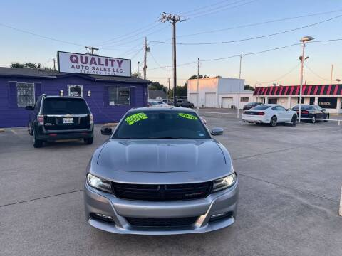 2016 Dodge Charger for sale at Quality Auto Sales LLC in Garland TX