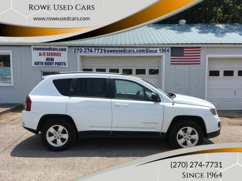 2014 Jeep Compass for sale at Rowe Used Cars in Beaver Dam KY
