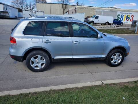 2007 Volkswagen Touareg for sale at GOOD NEWS AUTO SALES in Fargo ND