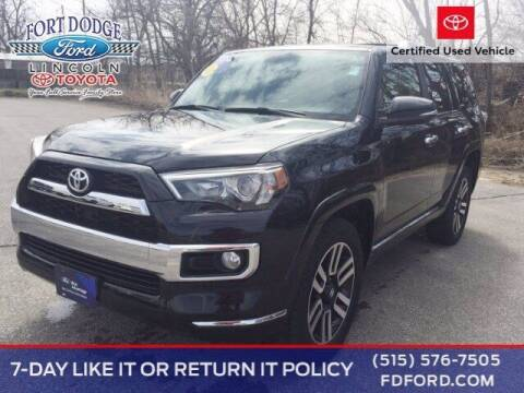 2016 Toyota 4Runner for sale at Fort Dodge Ford Lincoln Toyota in Fort Dodge IA