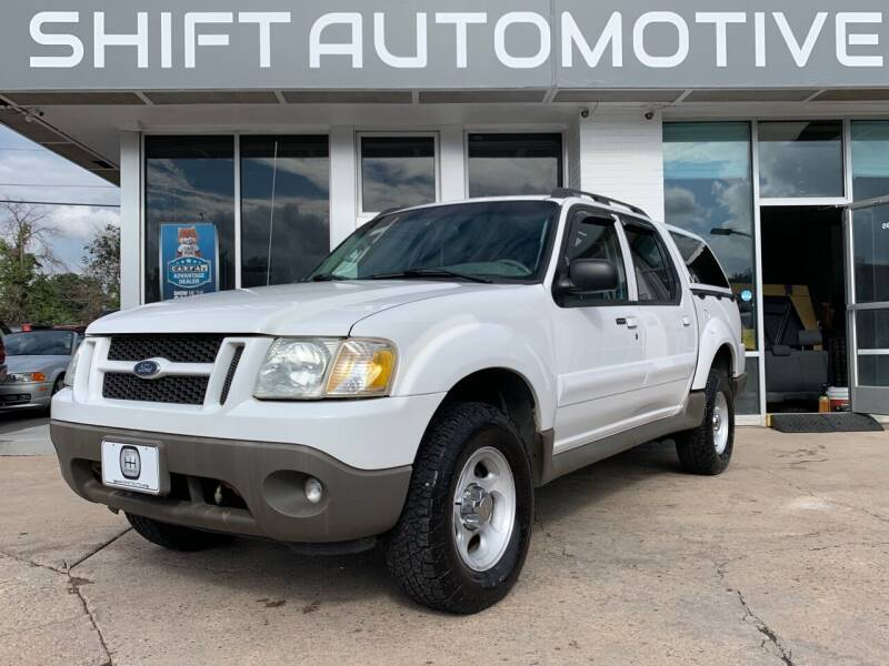 2003 Ford Explorer Sport Trac for sale at Shift Automotive in Denver CO