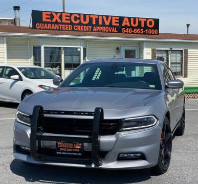 2015 Dodge Charger for sale at Executive Auto in Winchester VA
