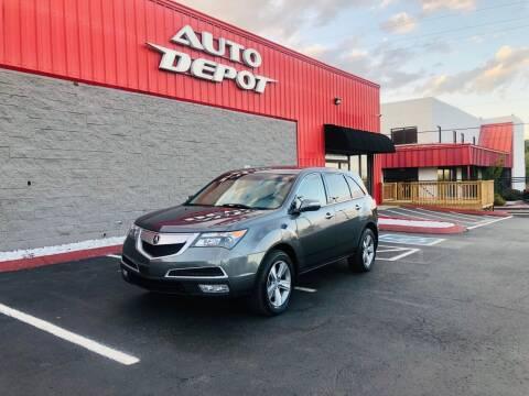 2012 Acura MDX for sale at Auto Depot - Nashville in Nashville TN