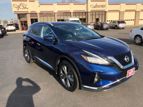 2020 Nissan Murano for sale at ASSOCIATED SALES & LEASING in Marshfield WI