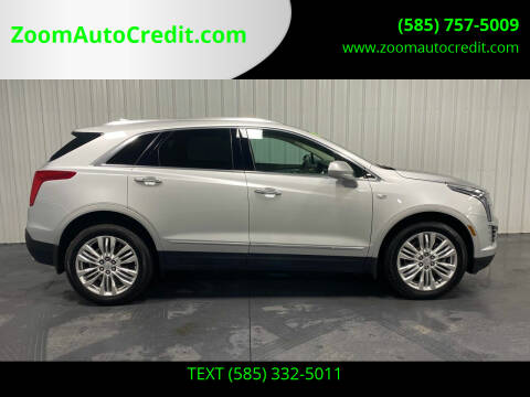 2017 Cadillac XT5 for sale at ZoomAutoCredit.com in Elba NY