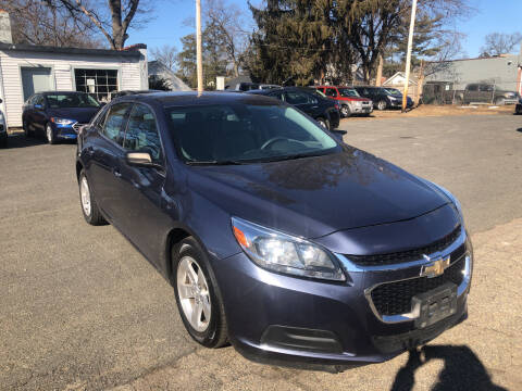 2014 Chevrolet Malibu for sale at Chris Auto Sales in Springfield MA
