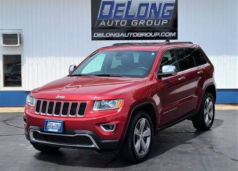 2014 Jeep Grand Cherokee for sale at DeLong Auto Group in Tipton IN