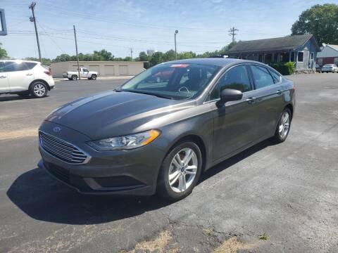 2018 Ford Fusion for sale at Savannah Motor Co in Savannah TN